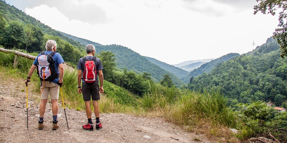 appennino pistoiese nordic hiking