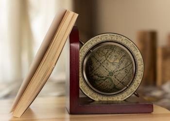 Libro mappa mondo