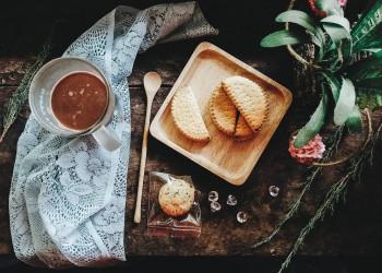Colazione biscotti trekking